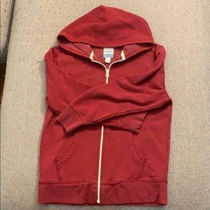 3/25$ * Boys burgundy hoodie